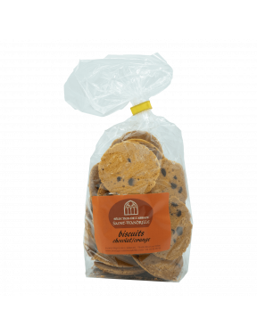 Biscuits chocolat-orange 200g Abbaye de Saint-Wandrille